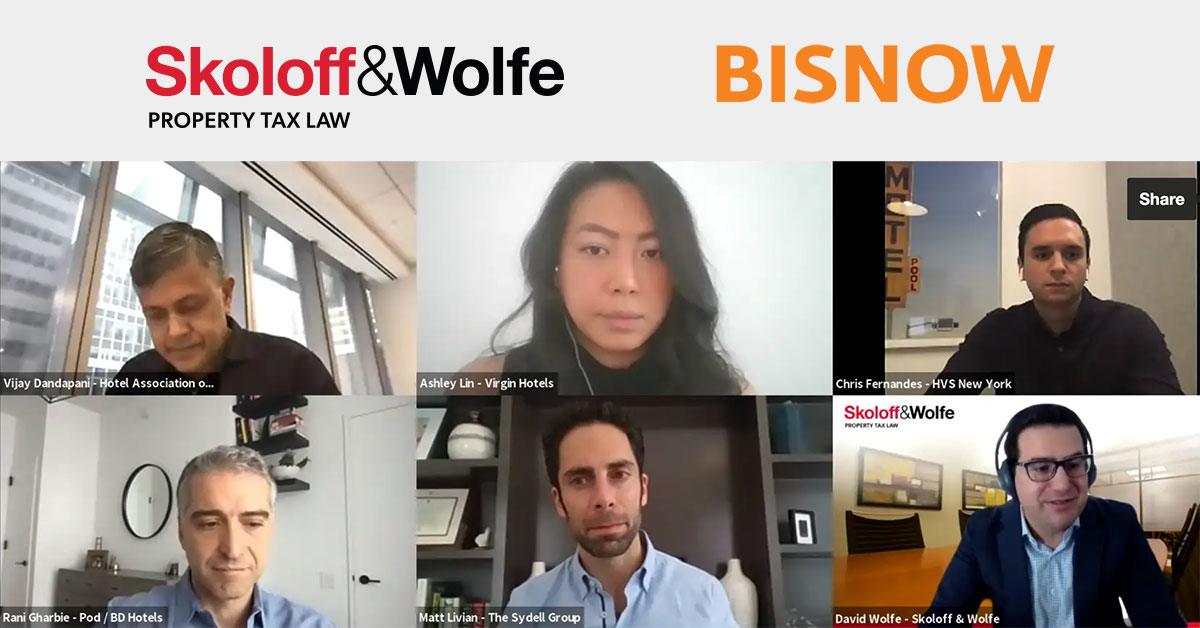 skoloff wolfe bisnow webinar